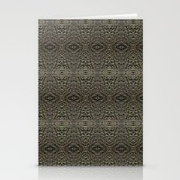metallic Stationery Cards featuring Metallic by Sarah McMahon