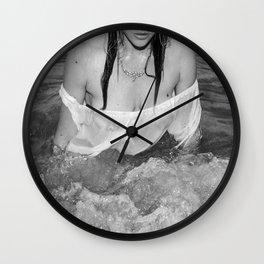 Erotic Sea Wall Clock