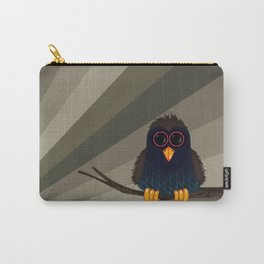 Isadore is a tiny bird. Carry-All Pouch