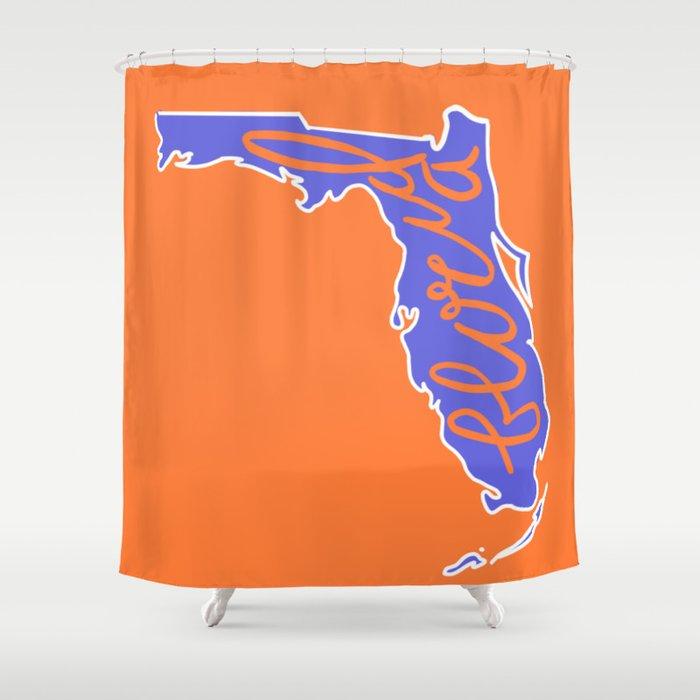 Florida Gators Shower Curtain By Rachelmel1
