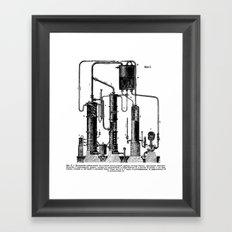 Brockhaus-Efron Distillery 5 Framed Art Print