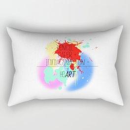 heART. - colorful Rectangular Pillow