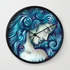 Calypso Sleeps Wall Clock