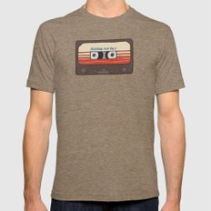 Guardians of the Galaxy MEDIUM Mens Fitted Tee Tri-Coffee