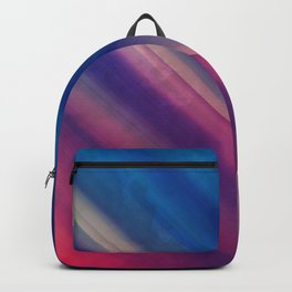 Vibrant Colorful Rays between Clouds 17 Backpack