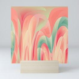 Abstract color harmony Mini Art Print