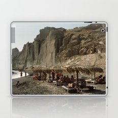 Eros Beach, Santorini Laptop & iPad Skin