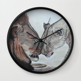 Cecil the Lion Wall Clock