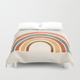 Abstract Rainbow 88 Duvet Cover