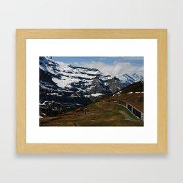Cosy Interlaken Framed Art Print