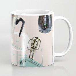 Fifties Kitchen Eggshell Coffee Mug