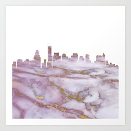 Boston Massachusetts Art Print