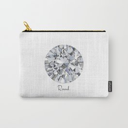 Round Carry-All Pouch