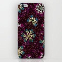 Stary Flowers iPhone Skin