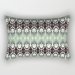 Turquoise Steel Rectangular Pillow