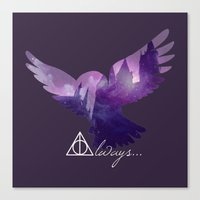 hedwig Canvas Prints featuring Hedwig by KeriiLynne