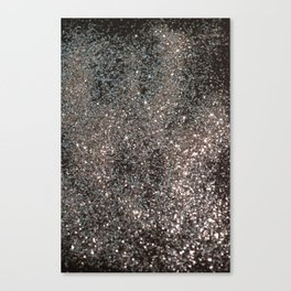 Silver Glitter #1 #decor #art #society6 Canvas Print