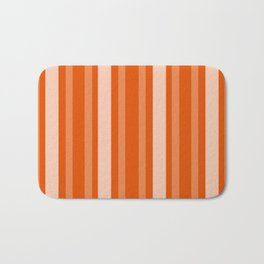Persimmon Victorian Lady Stripe Bath Mat