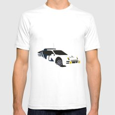 RS 200 White Mens Fitted Tee SMALL