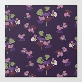 Forest Viola Canvas Print
