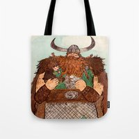 how to train your dragon Tote Bags featuring How to Train Your Dragon by Jennifer Chan