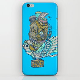 Bird Migration iPhone Skin