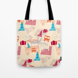 Travel Fever Tote Bag