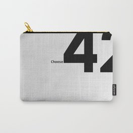 Choose 42 for your Towel Day Carry-All Pouch