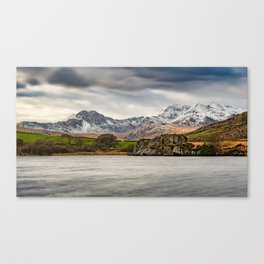 Snowdon Horseshoe Winter Canvas Print