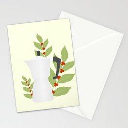 Moka pot Stationery Cards