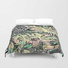 SPRING CYCLE Duvet Cover