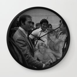 Rock n Roll Reunion - Vintage Collage Wall Clock