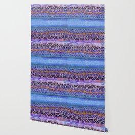 Blue Conduit Horizontal Wallpaper