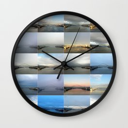 The Many Faces of the Fremont Bridge Wall Clock