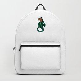 Fish Marine Animals Sea Creature Gift I'm A Seahorse Backpack