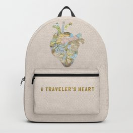 A Traveler's Heart Backpack