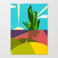 oz Canvas Prints featuring Oz. by Spencer Kurtti Designs