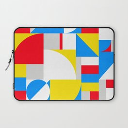 Bold Bauhaus Brights Laptop Sleeve