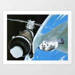 Saving Skylab Art Print