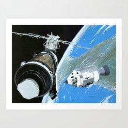 Saving Skylab Art Print