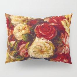 """Auguste Renoir """"Bouquet of Roses"""" Pillow Sham"""
