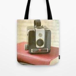 Vintage Brownie Camera Tote Bag