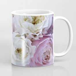 Pastel Pink Flowers Coffee Mug