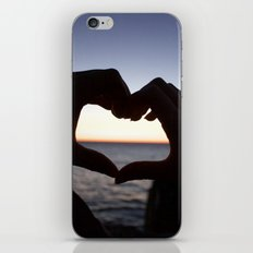 horizon heart iPhone & iPod Skin