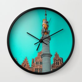 Ghent Lion Wall Clock