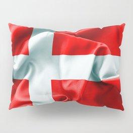 Denmark Flag Pillow Sham