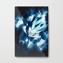 Goku Vegeta Dragon Ball Metal Print