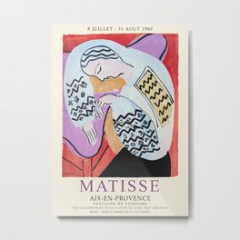 Matisse Exhibition - Aix-en-Provence - The Dream Artwork Metal Print