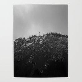 Black Butte Poster