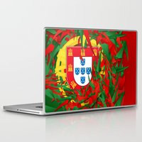 portugal Laptop & iPad Skins featuring Portugal by Danny Ivan